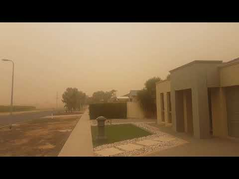 Dust Storm Mildura Victoria Australia. Mp3