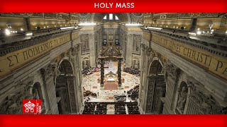 10 October 2021 Mass for the opening of the Synod of Bishops Pope Francis