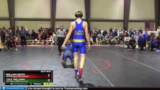 Middle School 130 William Heath Packer Wrestling Academy Vs Cole Williams The Grind Wrestling Club