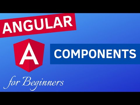 ANGULAR 9 COMPONENTS | What is a Component, how to create and use it? (with String Interpolation)