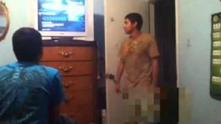 Wardrobe malfunction (shlang out)
