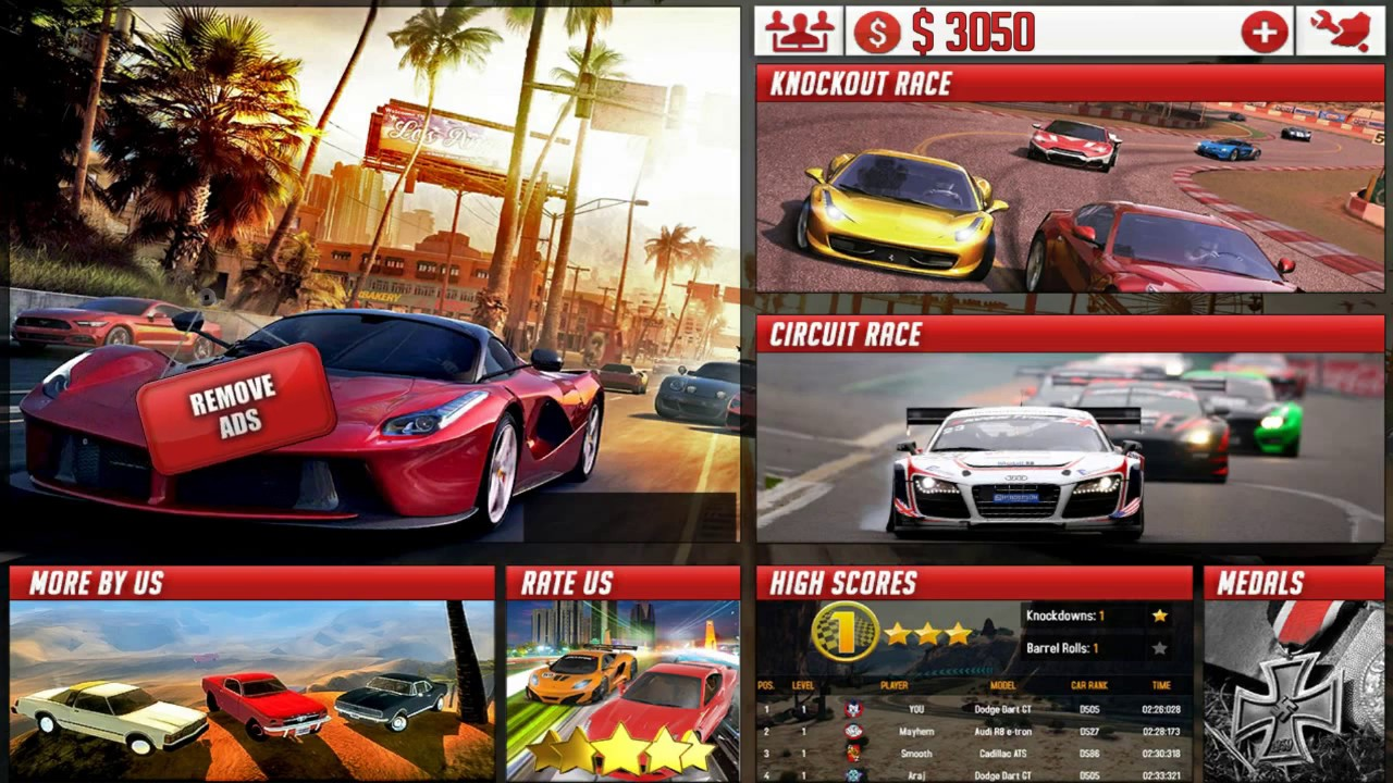 The Ultimate Car Racing 2017 Android Racing Game Video