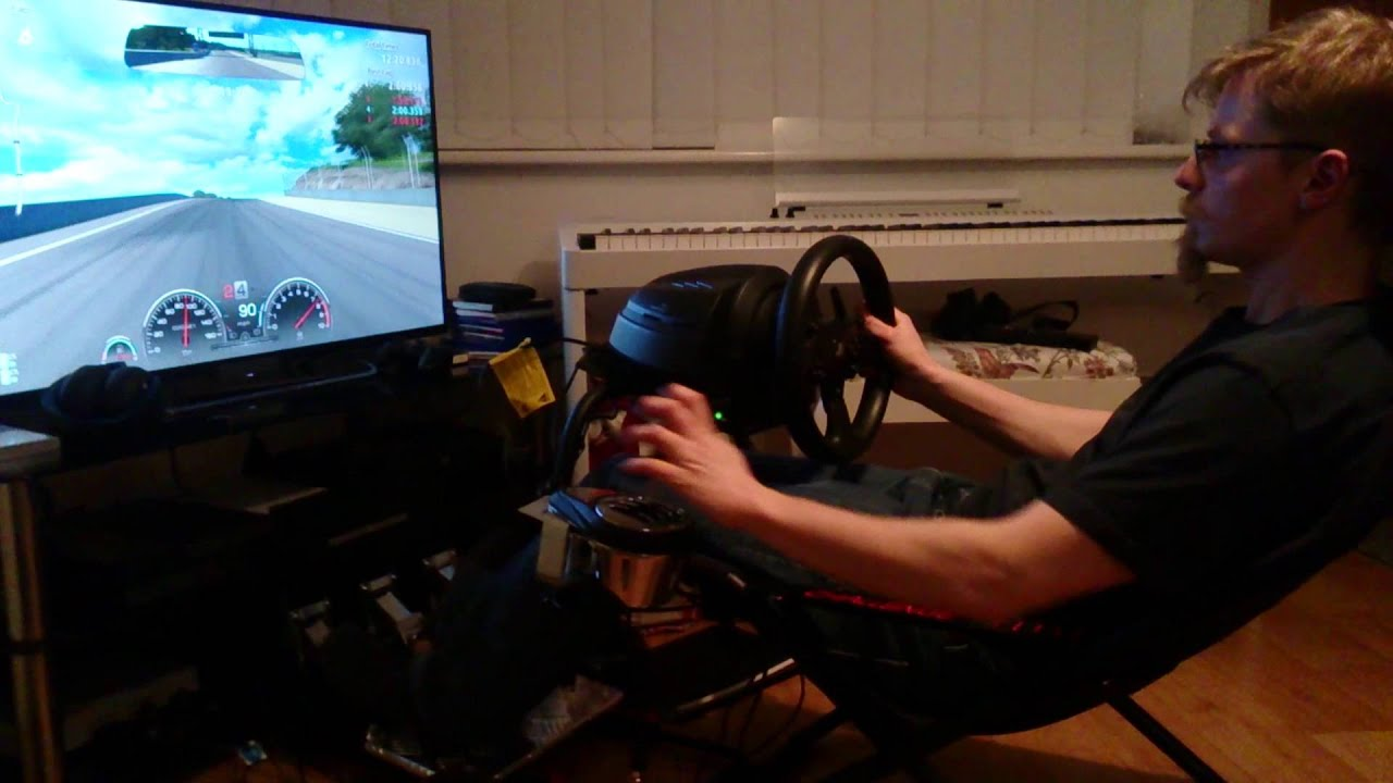 T300rs th8a t3pa-pro all on a playseat challenge by laam999