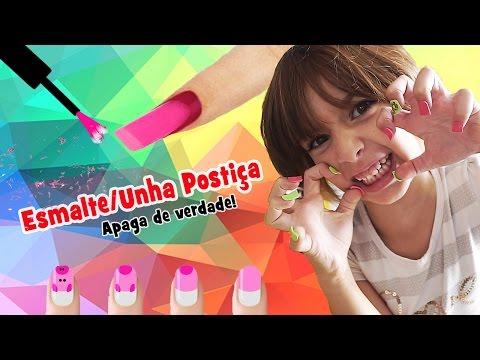 Enamel / Nail Linen Rubber (DIY, How To, School Supplies, Trolling) with Sarinha