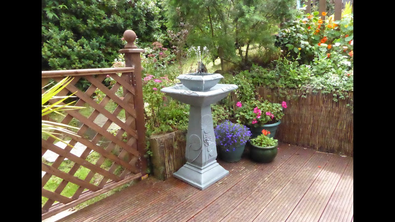 set up and review of the solaray bird bath from primrose youtube