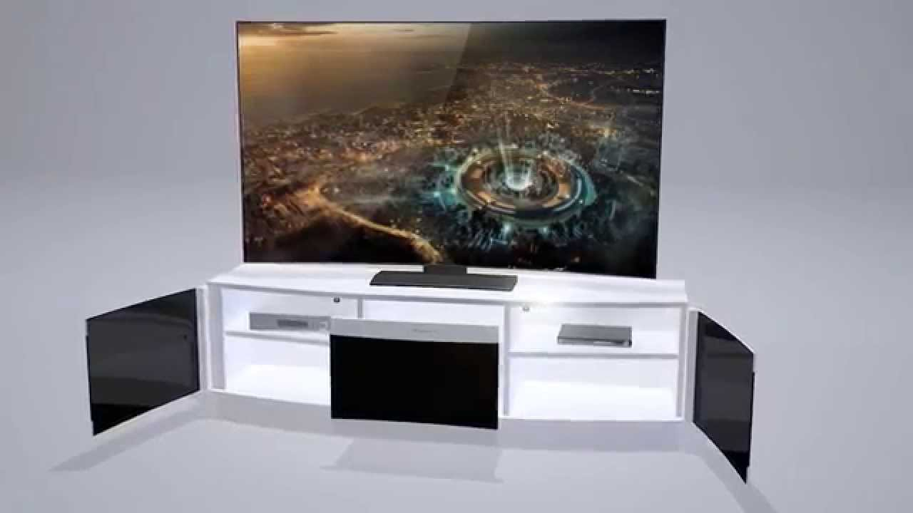 Bismot Curved Tv Stand Presentation Tanitim Video