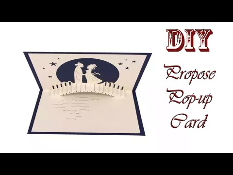 Propose Card Ideas | How to Make a Love propose Card For Loved Ones |Greeting Cards Latest Design
