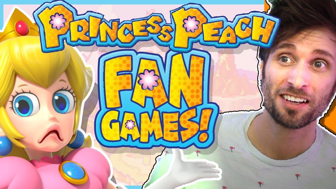 WEIRD Princess Peach Fan Games! – Spacehamster