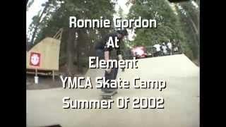 Ronnie Gordon At Element YMCA Skate Camp