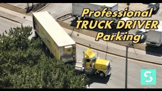 Professional TRUCK Driver Backing | SEPT 2017
