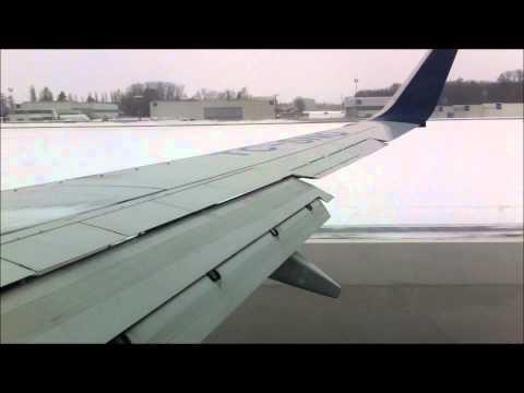 Landung mit starkem Seitenwind in Salzburg
