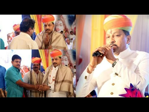 Mahendra Ji Munoth ( Maruthi Medical ) Speech   Majisa Mandal Bangalore Live On  01-10-2016