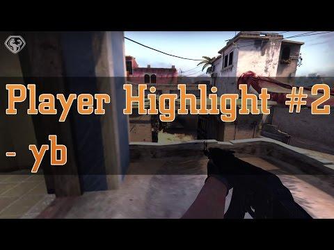 CS:GO - yb 4K AK (2v4) vs Planetkey Dynamics - Player Highlight #2