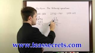 TEAS V Test Secrets - TEAS Math Tips