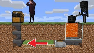 Building A Wither Skeleton Farmer On Hardcore!   Minecraft