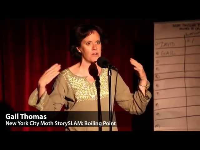 Gail Thomas Moth StorySLAM