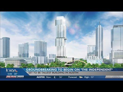 Ground breaking for Austin's tallest building