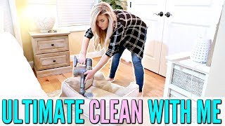 ULTIMATE  CLEAN WITH ME FALL 2018 | EXTREME CLEANING MOTIVATION | ALL DAY CLEANING ROUTINE