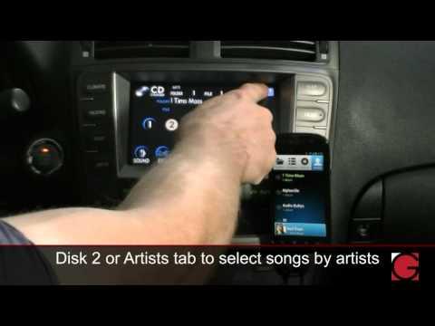 GROM Audio: AALinQ Demo Lexus IS350 2006 2007 2008 Android