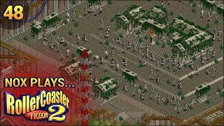 Nox Plays... Rollercoaster Tycoon 2: Time Twister | #48: Mythological - Animatronic Film Set, Pt. 2