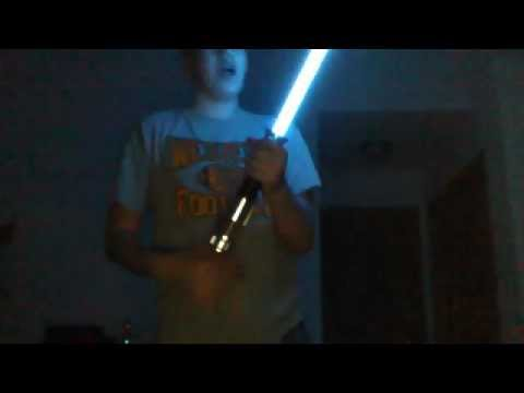 2010 Hasbro ObiWan Kneobi ROTS Force Fx Lightsaber With Removable Blade  YouTube
