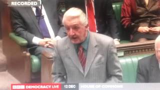 "Dennis Skinner MP attacks Cameron ""As Del-Boy would say..."""