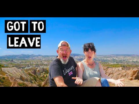PLANS Change - We HAVE to leave Cappadocia   Van Life TURKEY