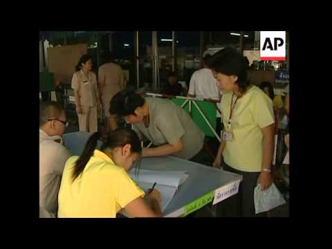 Thais vote on new constitution, polls opening, voting, voxpops