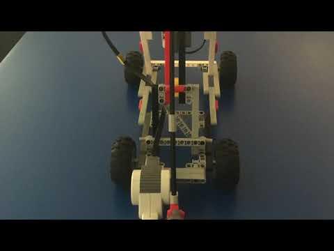 Eli's Robot Catapult Movie
