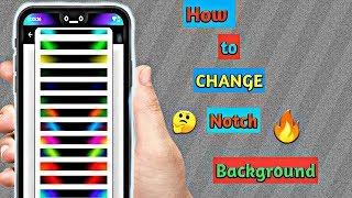 How to change status bar colour || notch themes on andriod mobile 2018