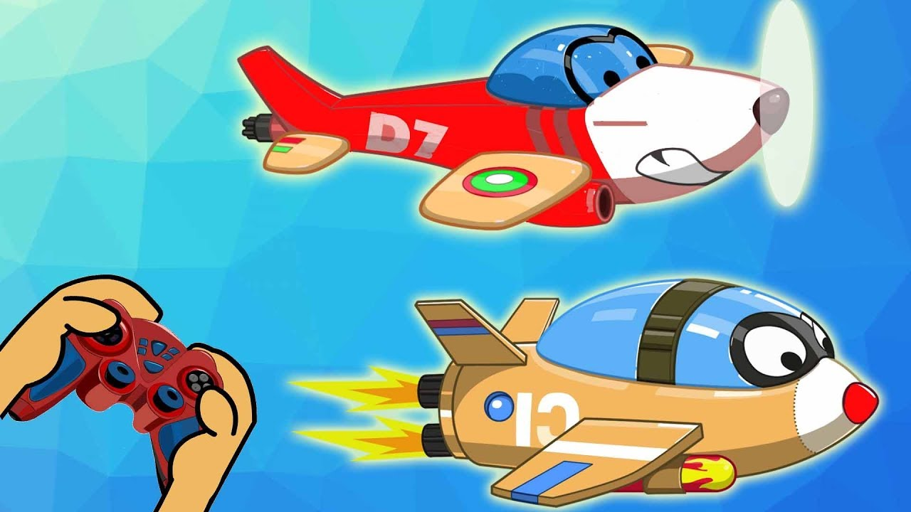 Rat-A-Tat |'Flying Shark Helicopter Mouse Real Life Video Game'| Chotoonz Kids Funny Cartoon Videos