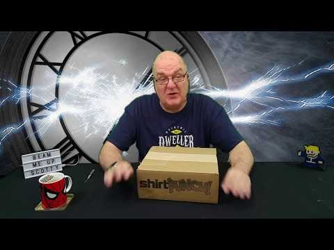 SHIRT PUNCH UNBOXING   PUNCH PACK #3