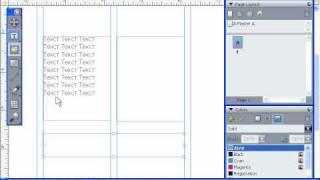 Разборка, объединение текстовых фреймов в QuarkXpress 8 (23/55)