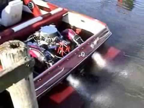 632 Chevy Big Block Boat Engine Startup Youtube