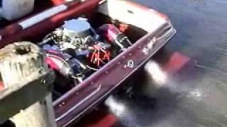 632 Chevy Big Block Boat Engine Startup