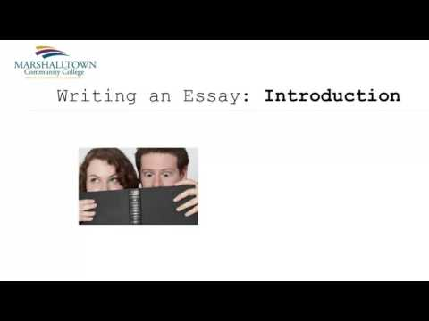 Essay Title, Introduction, and Conclusion (Part 3)