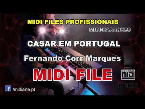 ♬ Midi file  - CASAR EM PORTUGAL - Fernando Corr Marques