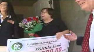 Wanda Bosh Wins $10,000.00 From Publishers Clearing House