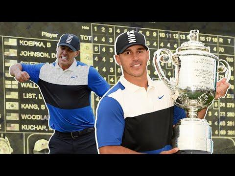 Brooks Koepka squeaks out second straight PGA Championship