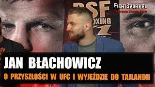 Jan Błachowicz: Jeśli w UFC ktoś wypadnie z walki o pas, to jestem gotów!