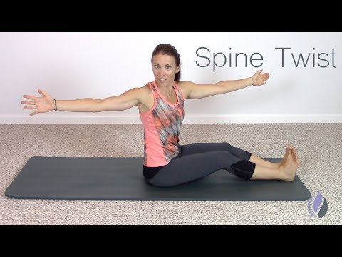 How to do Spine Twists | Pilates Tips