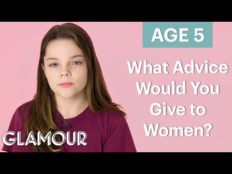 70 Women Ages 5-75 Answer: What Advice Would You Give to Women? | Glamour