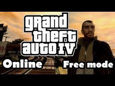 GTA IV online - Free mode Xbox 360