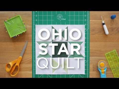 Quilt Snips Mini Tutorial - Ohio Star