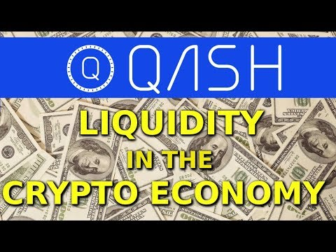 QASH coin review-- Crypto liquidity!