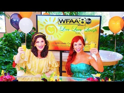 """""""Live Love Laugh Today with Linda Cooper & Susie McAuley""""  Halloween Show 2015"""