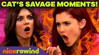 Ariana Grande's Most SAVAGE Moments as Cat Valentine 😼 Victorious | Sam & Cat