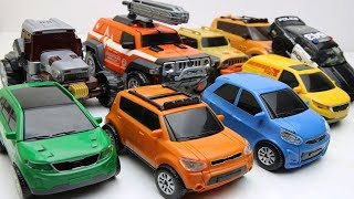 Tobot Robot Stop motion Adventure vs Athlon Ambulun X Police Chase for robber ATM. Car Toys for Kids