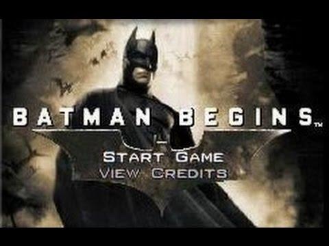 Batman Begins Game