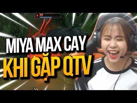 MIYA Max Cay Cú Khi Đối Đầu Sion Đập Trụ QTV | KHOẢNH KHẮC LIVE STREAM